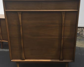 Mid Century highboy dresser by Red Lion Table Co