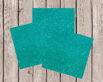 12x12 Glitter Card Stock, 12x12 Glitter Paper, Aqua Glitter Paper, Aqua Glitter Card Stock, DIY Projects, DIY Invitation, Mermaid Party Aqua