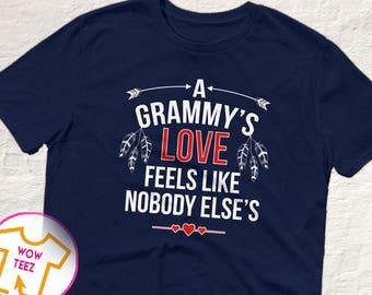 Grammy Shirt, Mother's Day Grammy, A Grammy's Love, Customized Grammy Shirt, Grammy Gift, Grammy TShirt, Cute Gift for Grammy, Mother's Day
