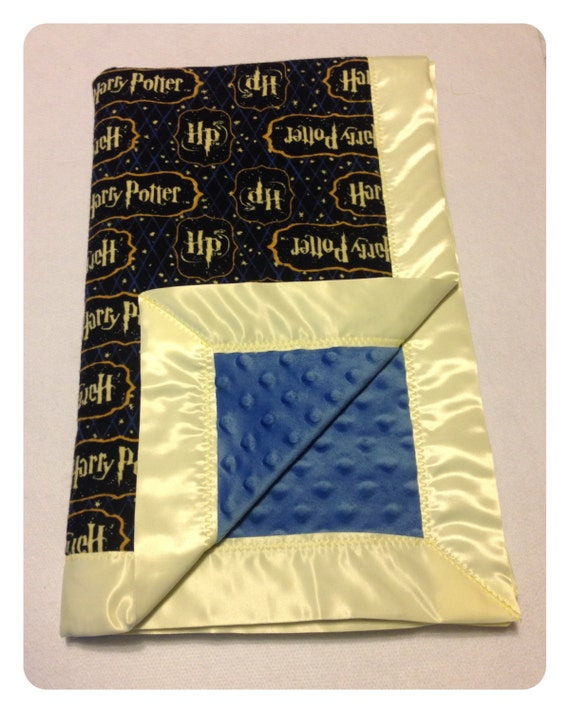 harry potter baby blanket receiving blanket swaddler. Black Bedroom Furniture Sets. Home Design Ideas