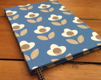 Large Notebook Covered in a Louise Brainwood Fabric