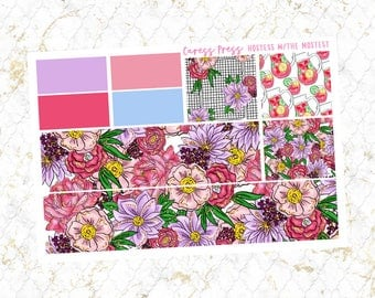Hostess with the Mostest Washi Sheet | 32 Stickers