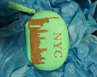 Custom Faux Leather Change Purse