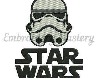 STORM TROOPER - Star Wars - Machine embroidery design