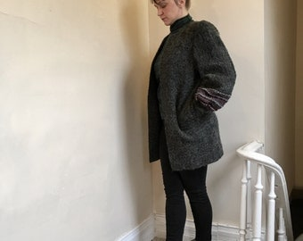 80s Mohair Sweater Coat - Tailored Expressly for Dillard's