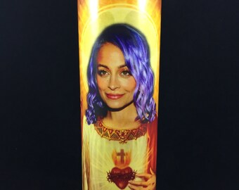 Nicole Richie Prayer Candle