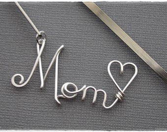 Mom Wire Name or Any Name/Word Bookmark