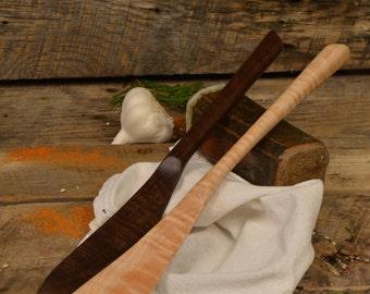 Wood Utensil, The Scotsman's Spurtle, Spatula, Oatmeal and porridge cooker