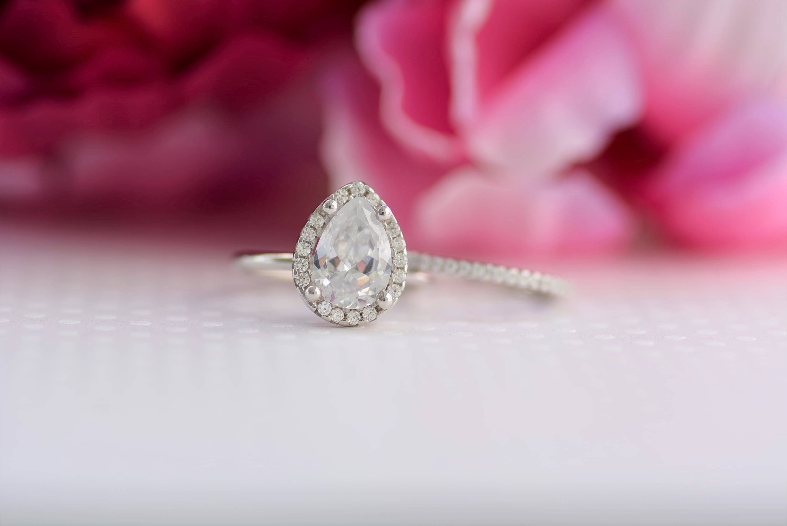 New Nickel Free Wedding Ring Set – Wedding