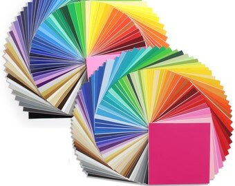 Oracal Vinyl Sheets 631 and 651 Vinyl  129 - 12 x 12 Sheets ALL COLORS!