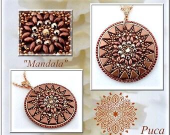 """Schéma pendentif """" Mandala"""""""