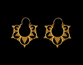 SALE! for brass earrings creoles