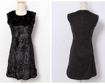1980s vintage dress XS-S