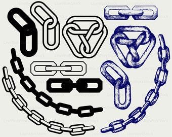 Chain svg,chain clipart,chain svg,chain silhouette,chain cricut cut files,chain clip art,chain digital download designs,svg,dxf