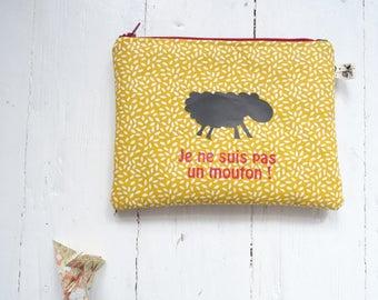 """Poutch / Bag """" the sheep"""""""