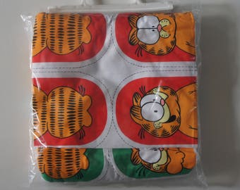Set Of Six Vintage Supplies 1980s Garfield Egg Cosy Making Kit, Sewing, Craft, Collectible, Gift, Kitchen, Home Decor, Birthday, Quilting