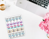 Happy Mail Planner Stickers