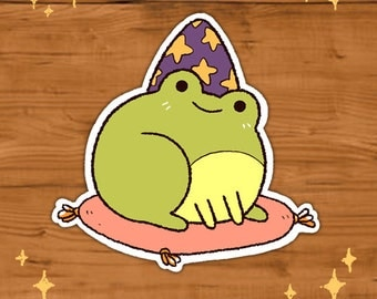 Magic Frog Stickers *Pack of 3*