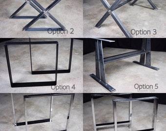 Leg Options for Custom Tables