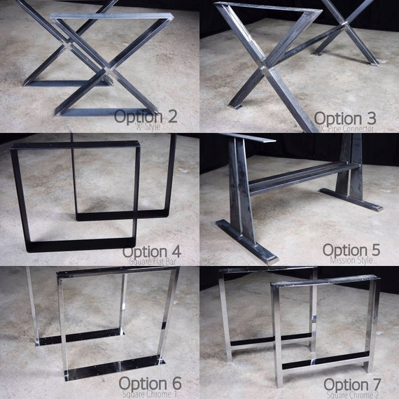 Leg Options for Custom Tables