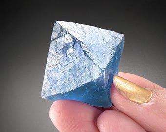 Fluorite Octahedron, New Mexico