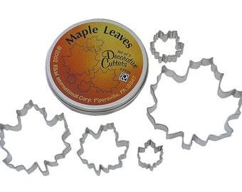 Maple Leaf Cookie Cutter Set - 1936
