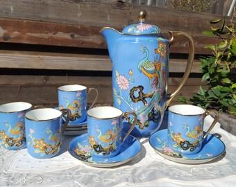 Vintage Noritake Hot Chocolate Set