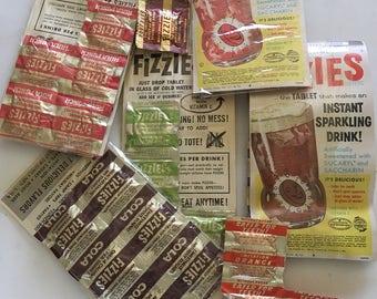 1950s FIZZIES original packaging