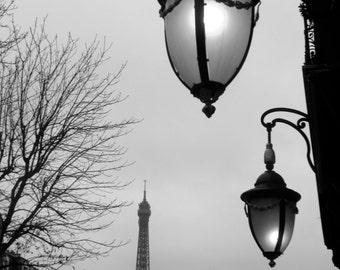 Paris Photo, Eiffel Tower, Paris Black & White,