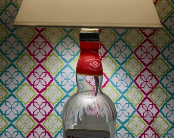 Southern Comfort Bottle Lamp