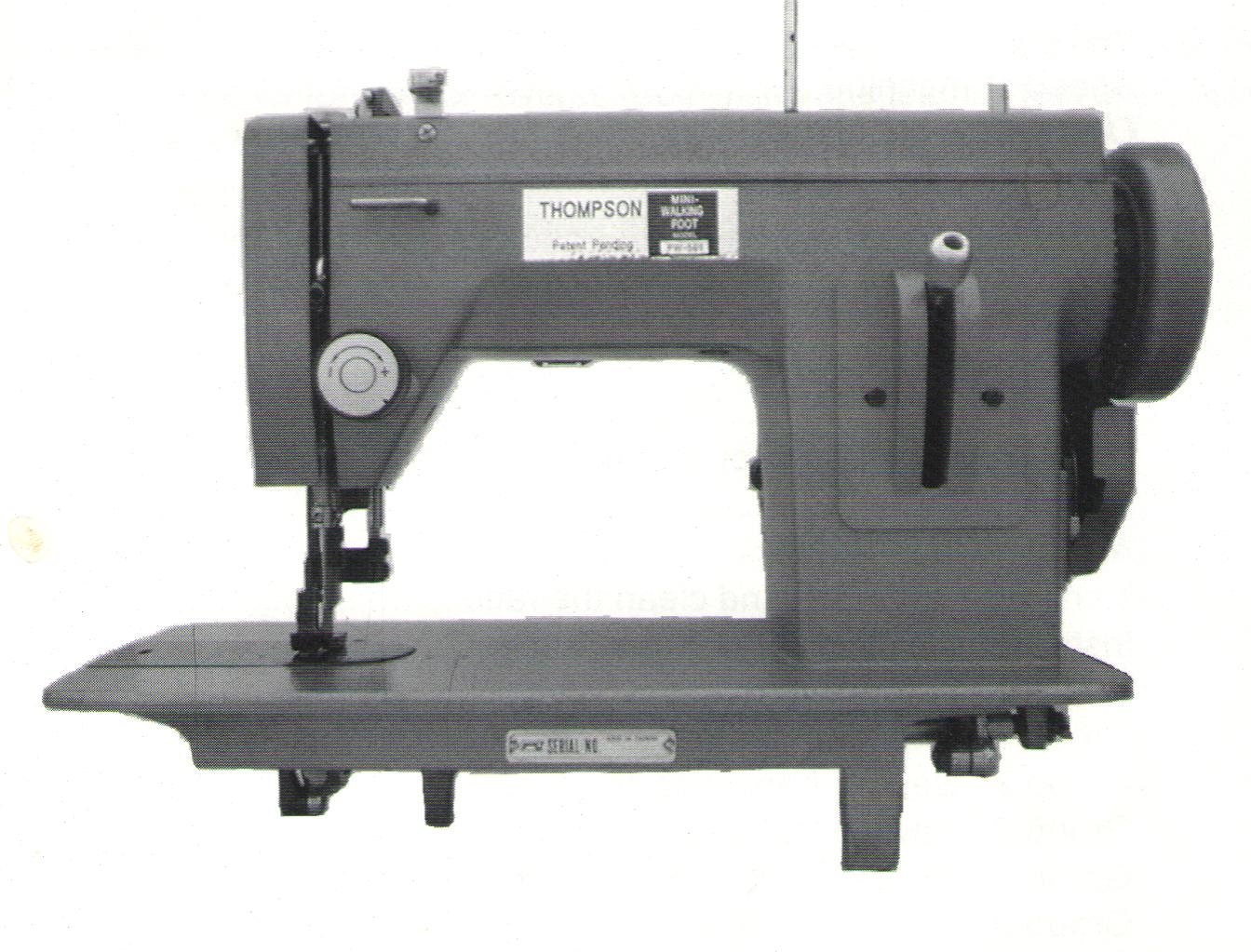 thompson mini walker sewing machine
