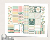 Floral planner stickers,Printable stickers for use in mini happy planner,bohemian planner stickers,planner printable,personal size stickers