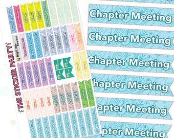 SS003 Sorority Planner Sticker Set (XL Sticker Sheet)