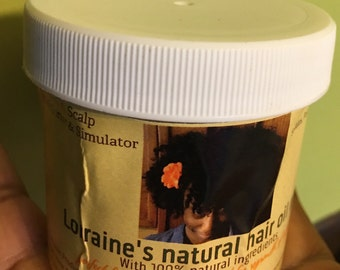 3oz Lorraines natural hair oil mix