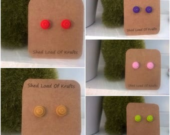 LEGO Studded earrings