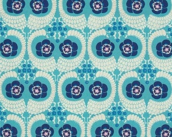 Amy Butler Violette French Twist in Sky; 1/2 yard woven cotton fabric