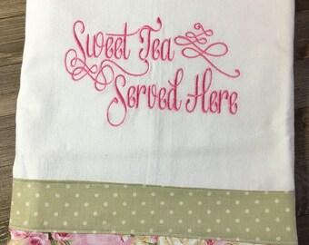 Flour Sack Kitchen Towel/Sweet Tea