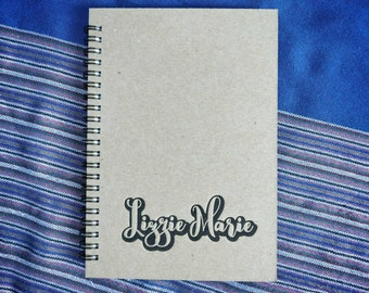 Custom made/personalized letterpress drawing pad| notebook