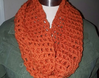 Infinity Scarf, crocheted