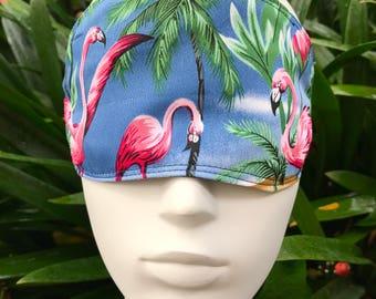 Eye mask, Sleeping mask, Eye cover, Travelling mask, Sleeping eye mask, Flamingo eye mask, Flamingo sleeping mask, Handmade eye mask