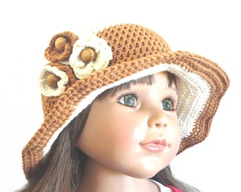 Crochet Women Brim Hat Crochet Hat Summer Hat Floral Hat Girls Summer Hat Beach Visor Hat Sun Hat Beach Accessories Weekend Photo Prop