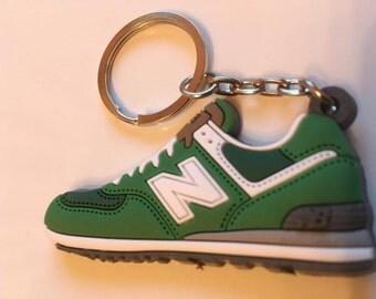 New balance Keychain ML 574 green keychain