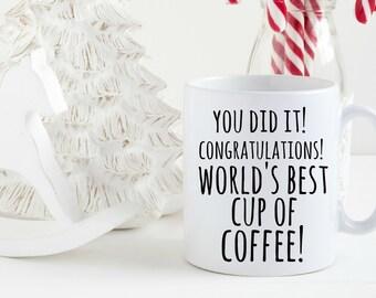 Elf Christmas Mug, Funny Mug, World's Best Cup of Coffee