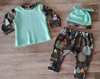 Baby Boy Homecoming Outfit