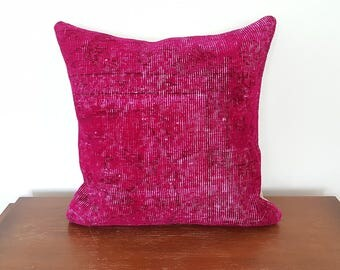 Pink Rug Pillow Cover 20x20 Cushion pink rug pillow cases, pillow covers pink