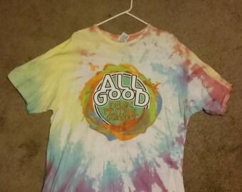 All Good Music Festival (18th annual) Tie Dye T Shirt - 2015