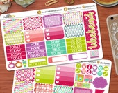 A Colorful Christmas weekly Planning Kit Perfect for your Erin Condren Life Planner!