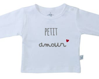 "My little love t-shirt-French saying ""mon petit amour""-Pima Cotton, baby-toddler t-shirt , French t-shirt-"