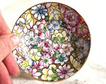 Jewelry Dish, Catch All, Ring Dish, Japanese Porcelain Ware, Porcelain Trinket Dish, Boudoir Decor, Cottage Chic