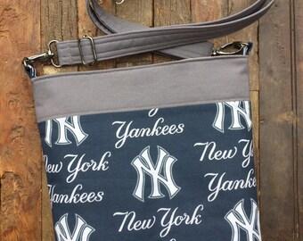 New York Yankees Baseball Messenger Bag/Cross Body Bag